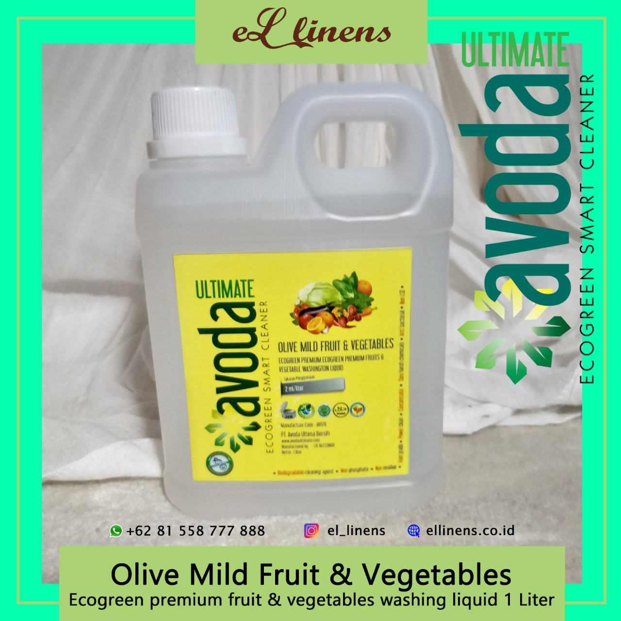 Olive Mild Liquid - Fruit & Vegetable